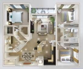 House Designs Bedrooms by Outstanding 3 Bedroom House Plans Nitrofocusfacts Modern
