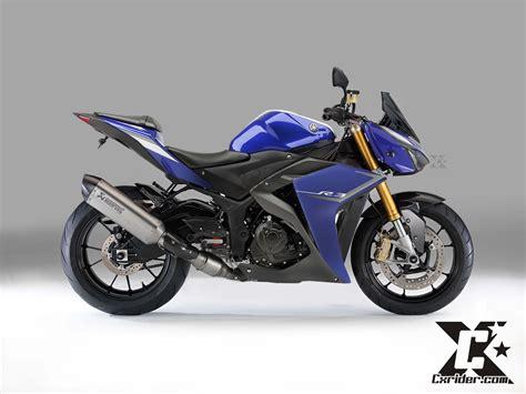 Yamaha R25 Modification by Konsep Modifikasi Yamaha R25 R3 Half Fairing Rival