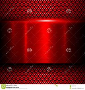 Background red metal stock vector. Illustration of ...