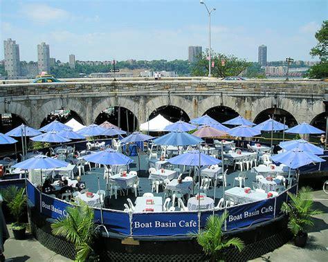 Boat Basin Photos by Boat Basin Cafe Riverside Park Hudson River New York