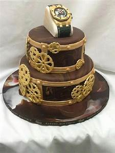 Custom Watch Cake For Him on Cake Central   cakes I like ...