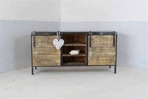 meuble de cuisine industriel meuble buffet enfilade industriel loft industeel