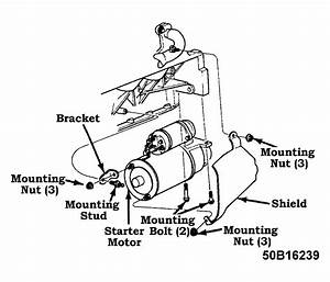 1995 Cadillac Engine Starter Diagram