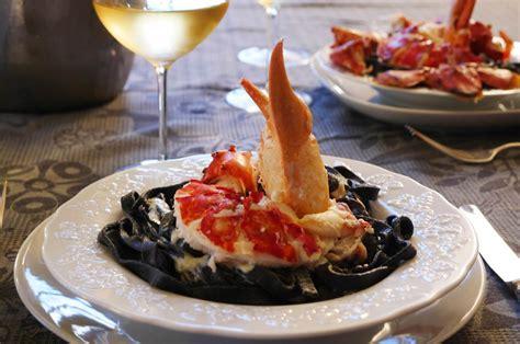 recette pates a l encre de seiche homard p 226 tes encre de seiche sauce parmesan