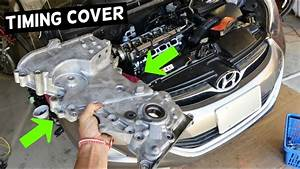 How To Remove Or Replace Side Engine Timing Cover On