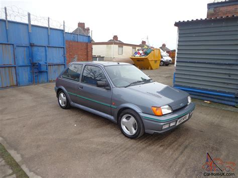 ford fiesta rs turbo grey totally original