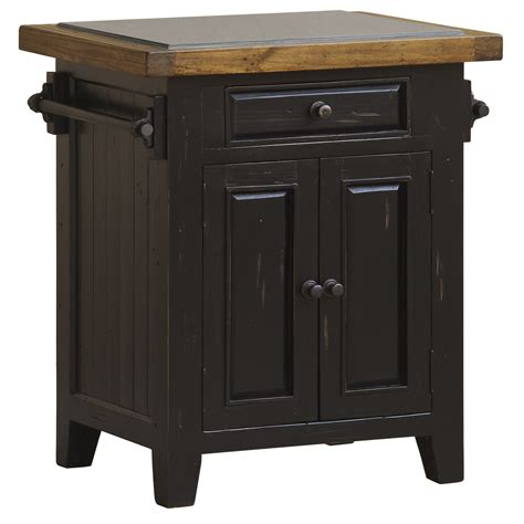 hillsdale tuscan retreat granite top small kitchen island  black    dining rooms outlet