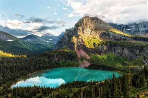 Grinnell Lake Glacier National Park Oc 3008x2008