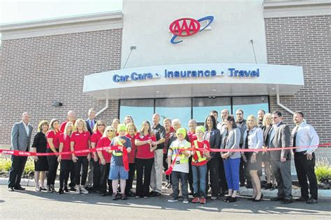 aaa car care location celebrates opening miami valley today