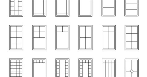 casement window grille patterns reference interior