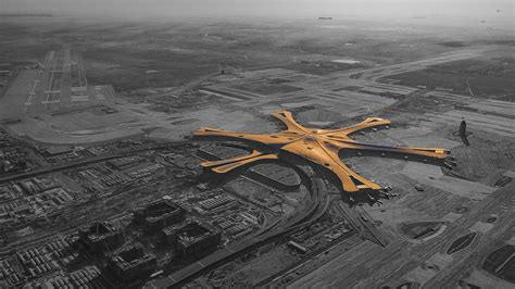 Neuer Flughafen Peking by Flughafen Peking Daxing