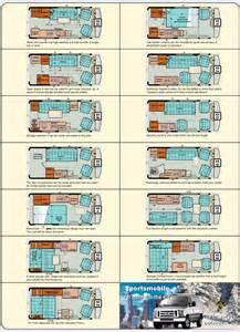 23 ft gmc motorhomes classic gmc motorhome floor plans