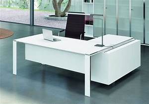 Meuble Bureau Design : meuble bureau design contemporain bureau design bois et ~ Melissatoandfro.com Idées de Décoration