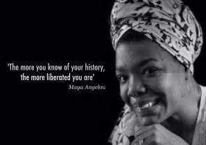 Black History Maya Angelou Quotes