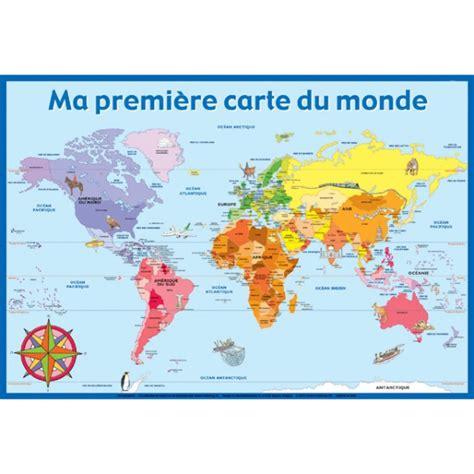 poster ma premi 232 re carte du monde kelbojouet