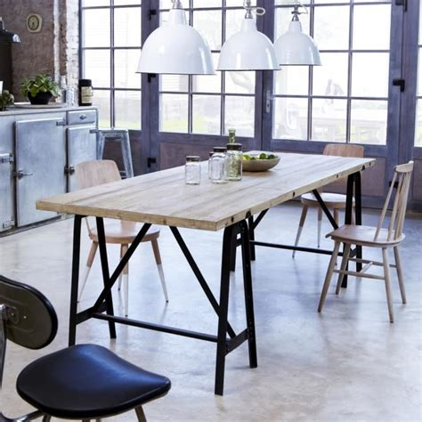 table a manger treteaux