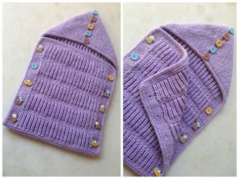baby sleeping bag  knitting pattern