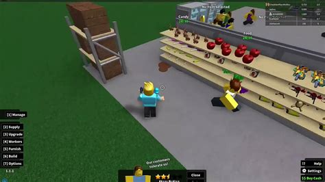 roblox retail tycoon part  employees gamer chad plays