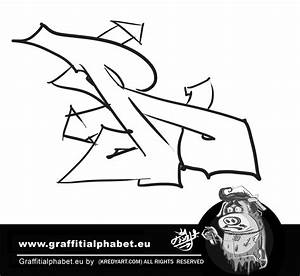 Learn how to make graffiti letter R in this graffiti ...