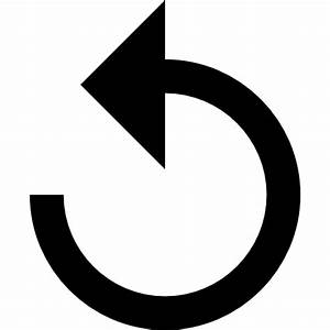 Undo button - Free arrows icons