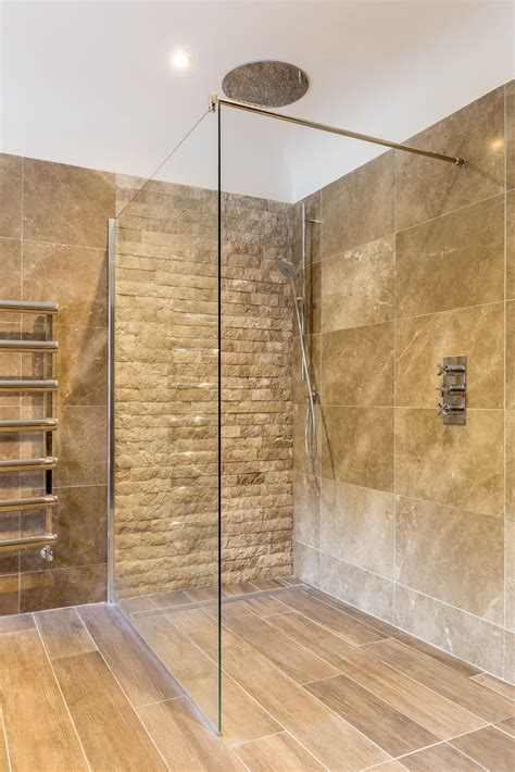 contemporary bathroom feature stone wall tiles texture
