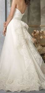 dress wedding dresses vestidos de noiva 2272521 With how to bustle a lace wedding dress