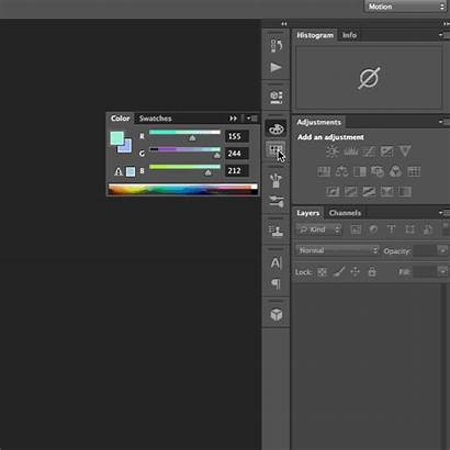 Photoshop Palette Medium Load Swatches Step Into