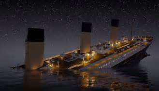 history re lived real time animation of the titanic