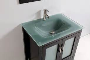 Sink Pop Up Assembly by Tempered Glass Top 30 Quot Single Sink Bathroom Vanity With Mirror And Faucet Espresso Finish