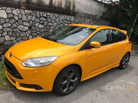 ford focus  st   selangor manual hatchback orange