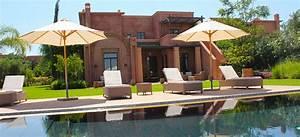 location villa marrakech avec vue sur golf smt With louer une villa a marrakech avec piscine
