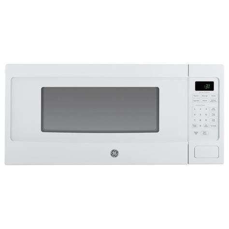 ge profile ge profile 1 1 cu ft countertop microwave in white