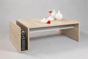 Table Basse Design Bois : table basse en bois design id es de d coration int rieure french decor ~ Teatrodelosmanantiales.com Idées de Décoration