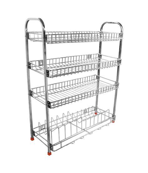 buy dailyshoper stainless steel kitchen rack