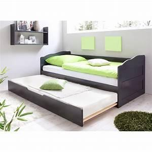 Bestes Bett Bei Rückenproblemen : sofabett einzelbett mit auszug melinda grau kaufen bei obi ~ Markanthonyermac.com Haus und Dekorationen