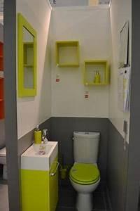 peinture wc gris anthracite et gris perle et touches jaune With awesome quelle couleur pour les toilettes 0 quelle couleur dans la salle de bains deco salle de bains
