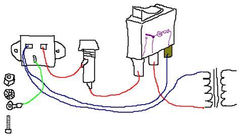 help wiring illuminated rocker switch