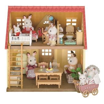 sylvanian families cottage set cottage cozy sylvanian families univers miniature