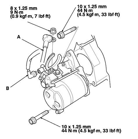 Honda Accord Starter Relay Location Wiring Diagram