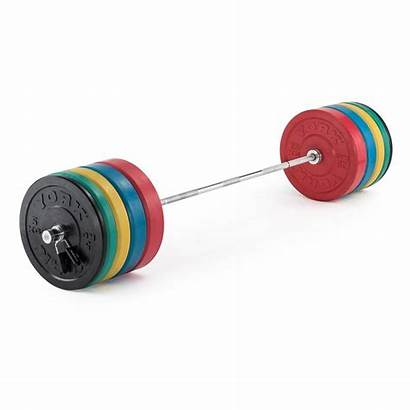 Olympic Plates Weight Bumper Rubber York Coloured