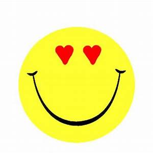 Smiley Face With Hearts - ClipArt Best