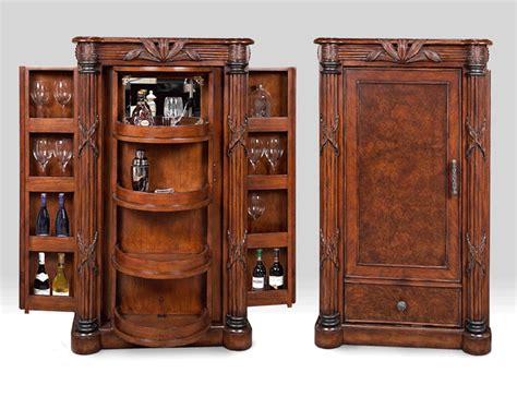 Mocha Java Finished Wood Euro Bar Cabinet 39 Havana Bay