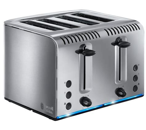 Buy 4 Slice Toaster by Buy Hobbs Buckingham 4 Slice Toaster Stainless