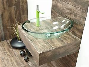 Waschbecken Glas Rund : waschbecken waschtisch handwaschbecken aus holz glas stein ~ Markanthonyermac.com Haus und Dekorationen