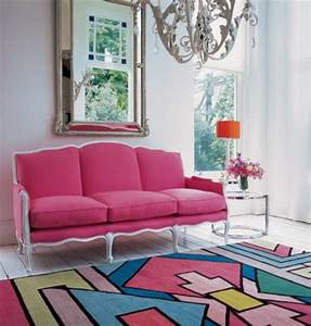 le tapis design la meilleure option pour votre chambre design With tapis chambre bébé avec canapé dépareillé