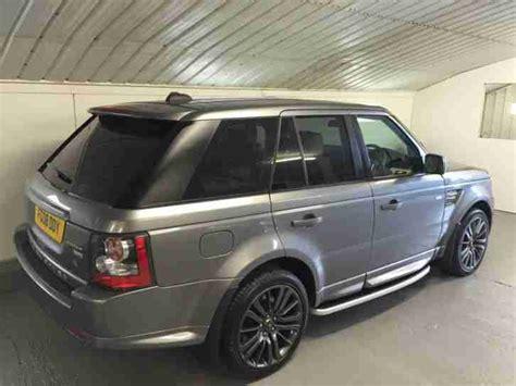 range rover sport  hse tdv  grey facelift