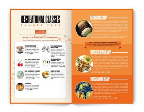 beautiful modern brochure design ideas