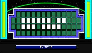 Wheel Of Fortune Template | playbestonlinegames