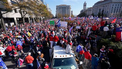MAGA March brings together Trump voters, far-right leaders ...