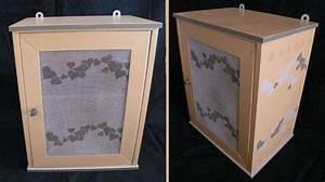 Grillage Garde Manger : ancienne armoire garde manger relook objets de d coration ~ Teatrodelosmanantiales.com Idées de Décoration